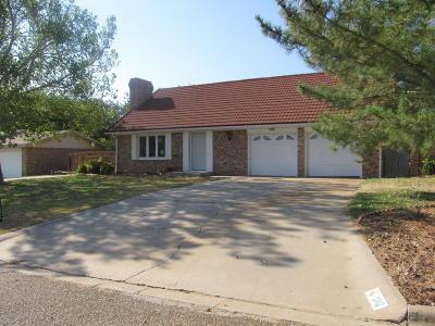Tulia Single Family Home For Sale: 308 Buffalo Trl