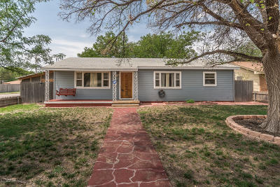 Amarillo Single Family Home For Sale: 4214 Fannin S St