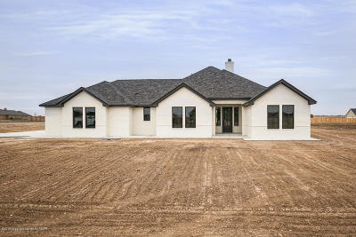 Amarillo Single Family Home For Sale: 9550 Strawberry Fields W Dr