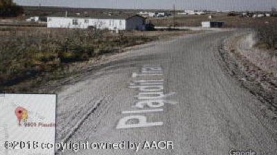 Amarillo Residential Lots & Land For Sale: 9909 Plaudit Trl