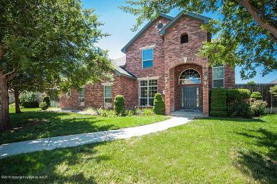 Randall County Single Family Home For Sale: 3608 Van Tassel St