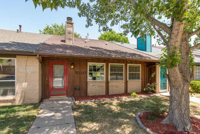 Amarillo Condo/Townhouse For Sale: 7007 Hurst Rd