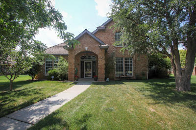 Amarillo Single Family Home For Sale: 6400 Claremont Dr