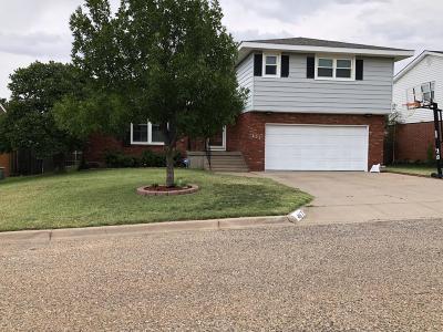 Borger Single Family Home For Sale: 405 Aspen