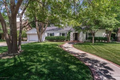 Amarillo Single Family Home For Sale: 2815 Ong S St