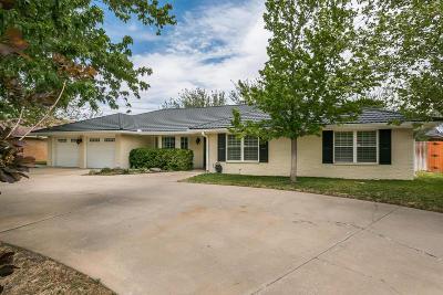 Amarillo Single Family Home For Sale: 3705 Kileen Dr