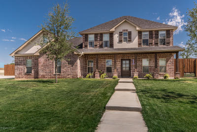 Claude Single Family Home For Sale: 1 Lone Star Ln