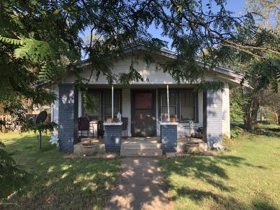 Potter County Single Family Home For Sale: 1306 Parker St