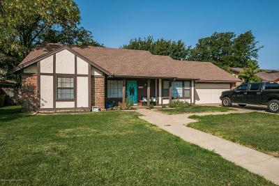 Amarillo Single Family Home For Sale: 3714 Kileen Dr