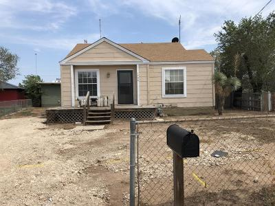 Borger Single Family Home For Sale: 1028 Hedgecoke N Dr