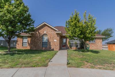 Amarillo Single Family Home For Sale: 6723 Emerald Ct