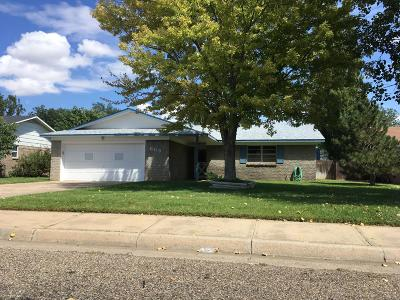Amarillo Single Family Home For Sale: 8115 Coronado Trl