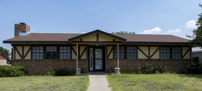Amarillo Single Family Home For Sale: 3101 Pittsburg