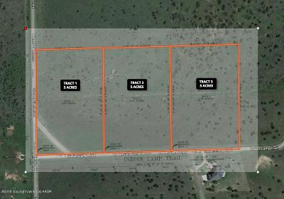 Canyon Residential Lots & Land For Sale: Indian Camp Trl. Tract 3