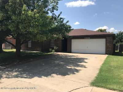 Amarillo Single Family Home For Sale: 5320 Whitney Ln