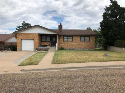 Borger Single Family Home For Sale: 1513 Lancelot St