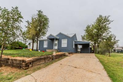 Borger Single Family Home For Sale: 1101 Valley Dr