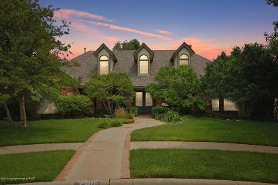 Randall County Single Family Home For Sale: 7301 Deann Cir