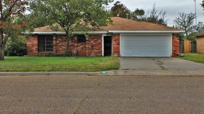 Panhandle Single Family Home For Sale: 1415 Charles