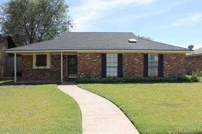 Potter County, Randall County Single Family Home For Sale: 6707 Michelle Dr