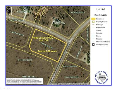 Amarillo Residential Lots & Land For Sale: 1006 Canyon Pkwy