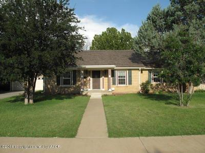 Potter County Single Family Home For Sale: 2407 Travis St