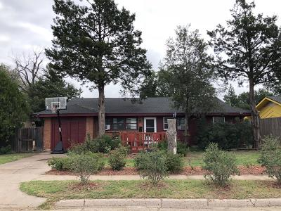 Potter County, Randall County Single Family Home For Sale: 2315 Bell St