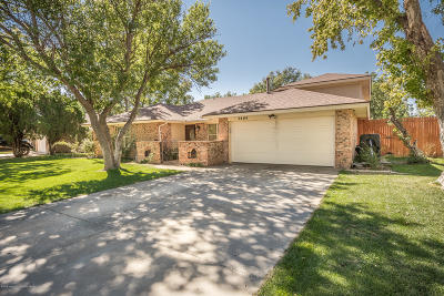 Amarillo Single Family Home For Sale: 3404 Amherst Dr