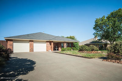 Potter County, Randall County Single Family Home For Sale: 3302 Reeder Dr