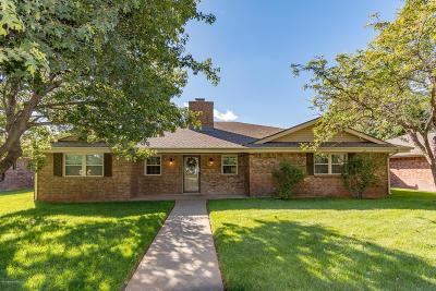 Amarillo Single Family Home For Sale: 8412 Pomona Dr