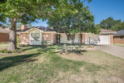 Amarillo Single Family Home For Sale: 3706 Virginia St