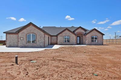 Amarillo Single Family Home For Sale: 8110 Blue Duck Trl
