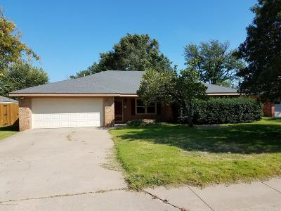 Potter County, Randall County Single Family Home For Sale: 3313 Sunlite St