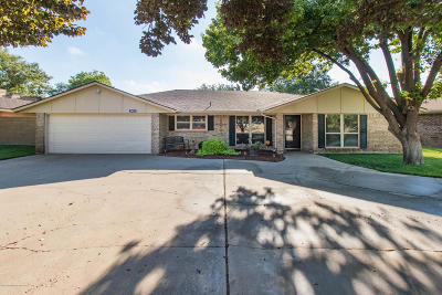 Amarillo Single Family Home For Sale: 3423 Thornton Dr