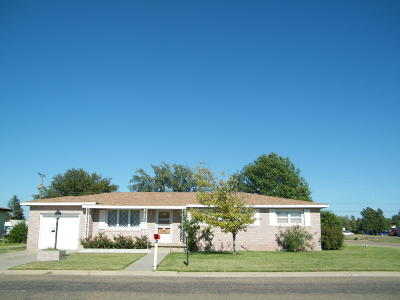 Panhandle Single Family Home For Sale: 800 Maple Ave.