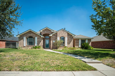 Randall County Single Family Home For Sale: 5805 Spencer St