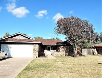 Carson County Single Family Home For Sale: 408 Willow