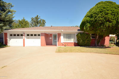 Borger Single Family Home For Sale: 1202 Campus Place