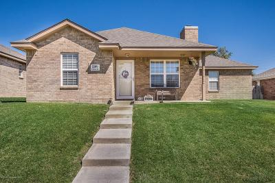 Amarillo Single Family Home For Sale: 2109 Noah St