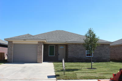 Amarillo Single Family Home For Sale: 4907 Eberly St
