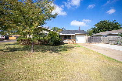 Amarillo Single Family Home For Sale: 3106 Oakdale Dr