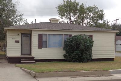 Amarillo Single Family Home For Sale: 4227 Washington S St