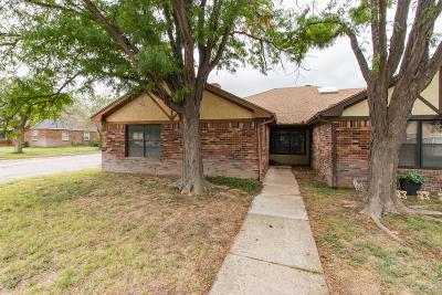 Amarillo Condo/Townhouse For Sale: 5620 Erik Ave