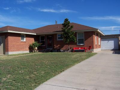 Borger Single Family Home For Sale: 813 Latimer St