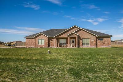 Amarillo Single Family Home For Sale: 18300 Hidden Springs Rd