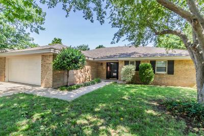 Amarillo Single Family Home For Sale: 7206 Fulton Dr