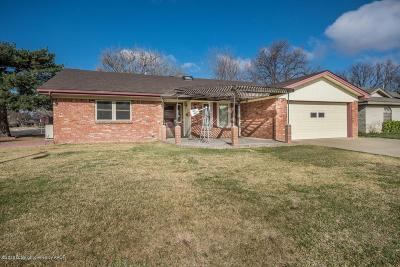 Amarillo Single Family Home For Sale: 3936 Puckett Dr
