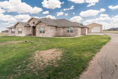 Amarillo Single Family Home For Sale: 18301 Grasslands Rd