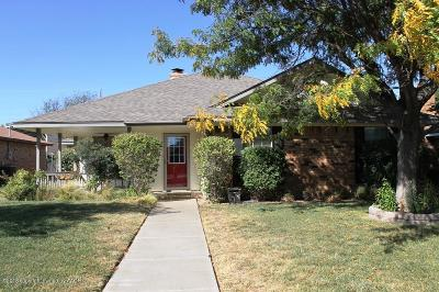 Potter County, Randall County Single Family Home For Sale: 6903 Daniel Dr
