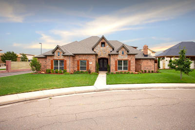 Amarillo Single Family Home For Sale: 7501 Continental Pkwy